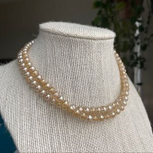 🎉5/20 SALE🎉Vintage Double Strand Pearls Necklace